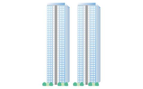 超高層マンション(タワーマンション)